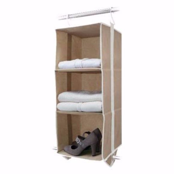 3 shelf hanging closet organizer Michael Graves